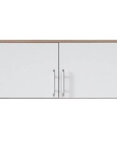 Nadstavecna skriňu Smart SRN3 100 cm dub sonoma/biela