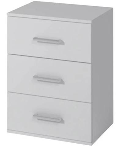 Nočný stolík Goda III 3S biela