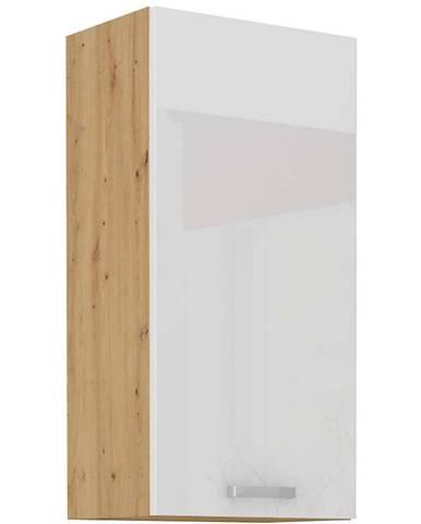 Skrinka do kuchyne ARTISAN biela lesklá 50G-90 1F
