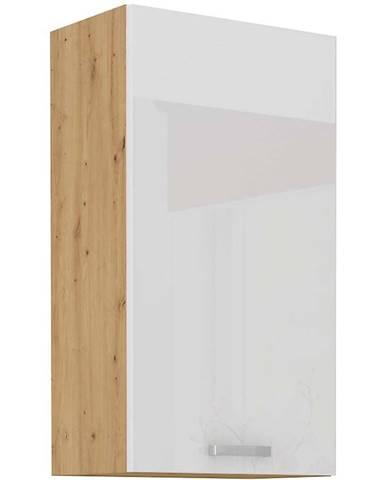 Skrinka do kuchyne ARTISAN biela lesklá 45G-90 1F