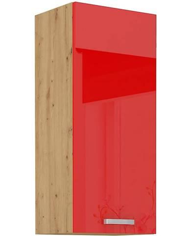 Skrinka do kuchyne Artisan červená lesk 40G-90 1F