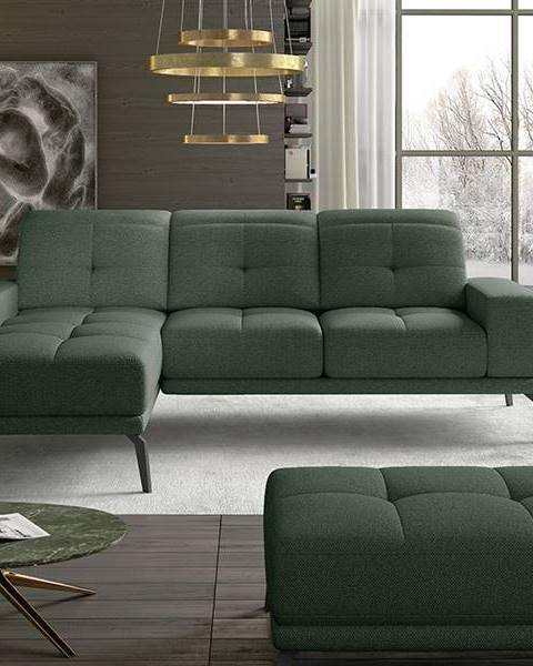 NABBI Tirreno L rohová sedačka zelená