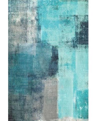 Esmarina Typ 2 koberec 160x230 cm modrá