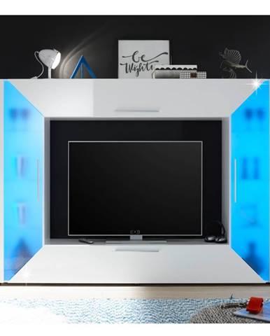 Adge obývacia stena biela