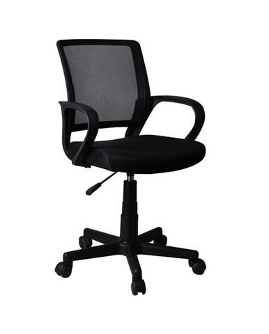 Adra kancelárska stolička s podrúčkami čierna