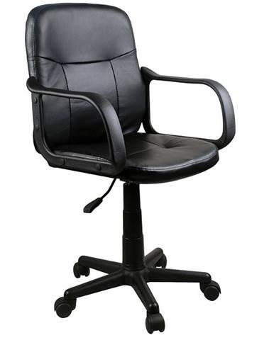 Ayla kancelárske kreslo s podrúčkami čierna