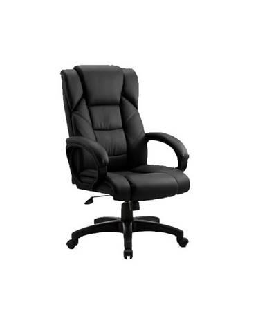 Siemo New kancelárske kreslo s podrúčkami čierna