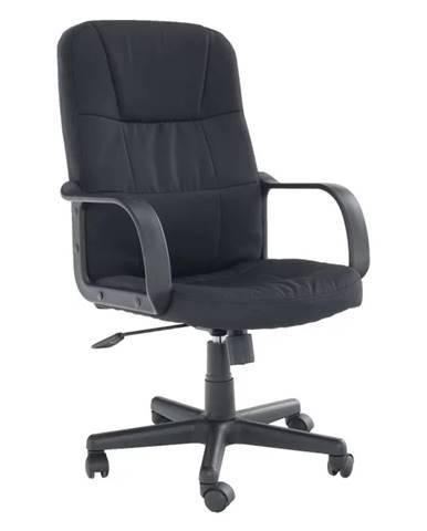TC3-7741 New kancelárske kreslo s podrúčkami čierna
