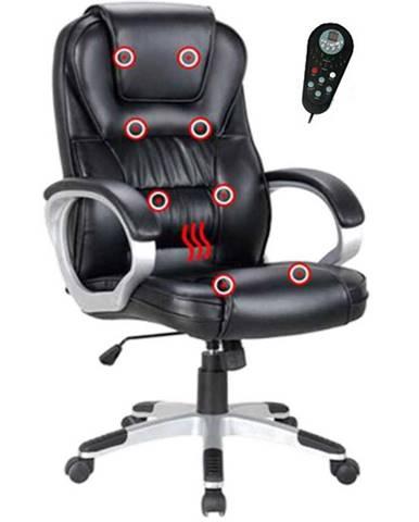 Tyler UT-C2652M kancelárske kreslo s podrúčkami čierna