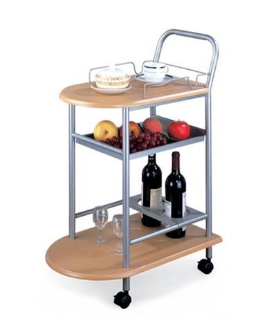 Lima servírovací stolík na kolieskach buk