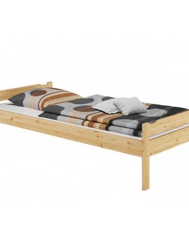 Livio jednolôžková posteľ prírodná