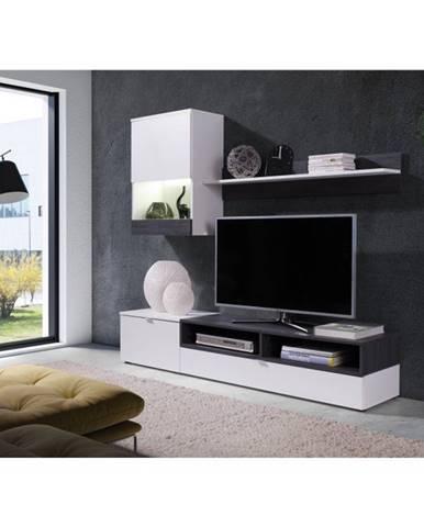Roso obývacia stena biela