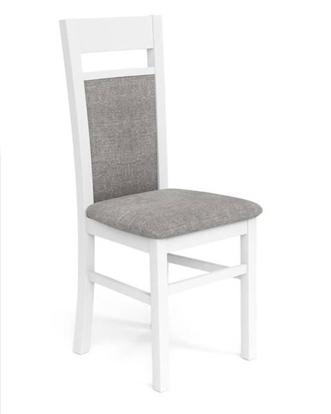 Halmar Gerard 2 jedálenská stolička biela