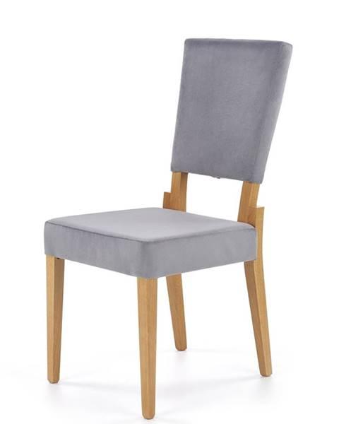 Halmar Sorbus jedálenská stolička dub medový