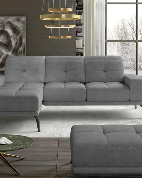 NABBI Tirreno L rohová sedačka sivá (Soro 93)