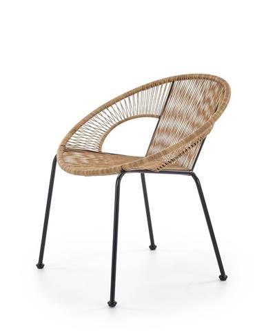 Bari záhradná stolička hnedá