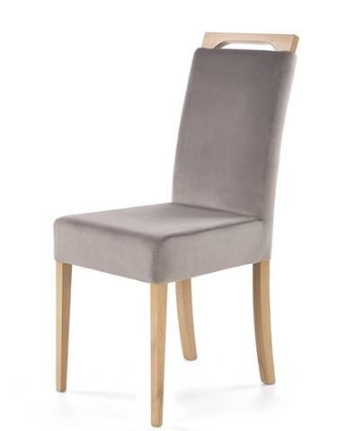 Clarion jedálenská stolička dub medový