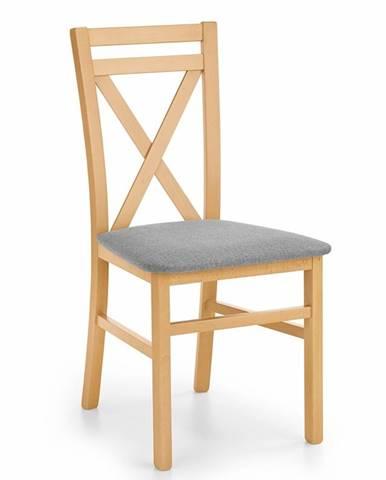 Dariusz jedálenská stolička dub medový