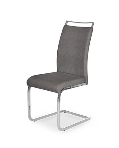 K348 jedálenská stolička sivá