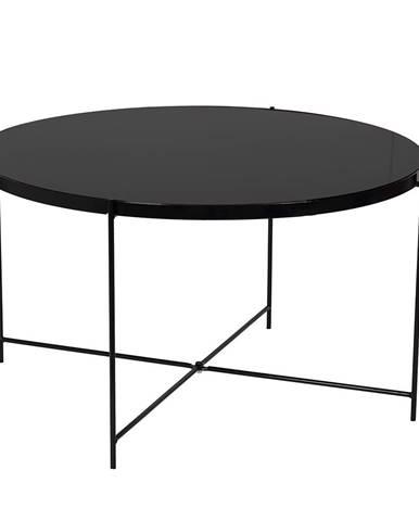 Kurtis okrúhly konferenčný stolík čierna