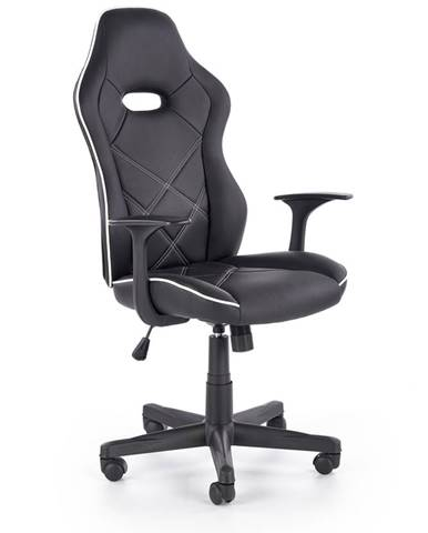 Rambler kancelárske kreslo s podrúčkami čierna