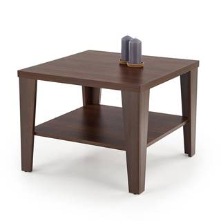 Manta Kwadrat konferenčný stolík orech tmavý