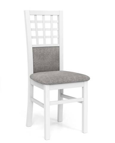 Gerard 3 jedálenská stolička biela
