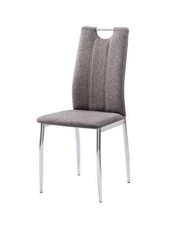 Oliva New jedálenská stolička hnedosivá