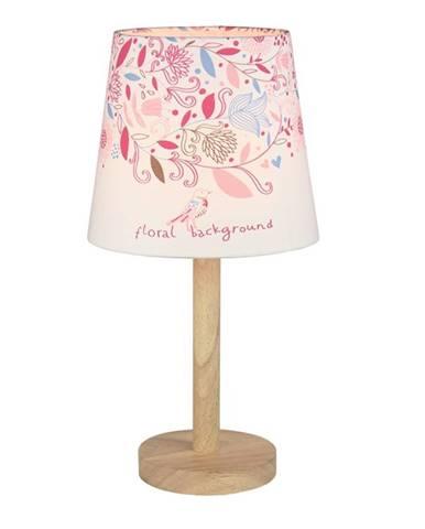 Qenny Typ 8 stolná lampa prírodná