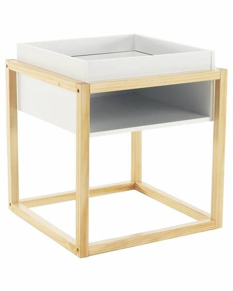 Tempo Kondela Hagan príručný stolík biela