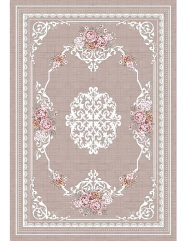 Sedef koberec 120x180 cm svetlohnedý