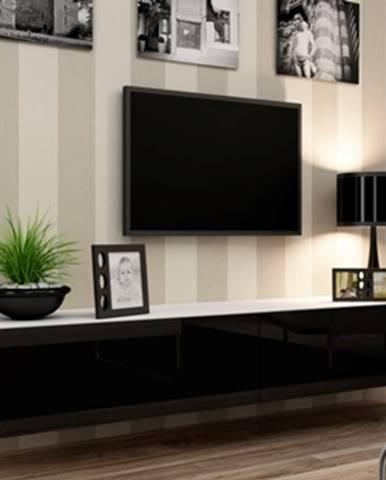 Vigo 180 tv stolík na stenu biela