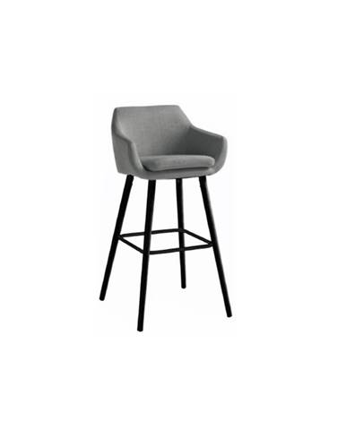Tahira barová stolička sivohnedá