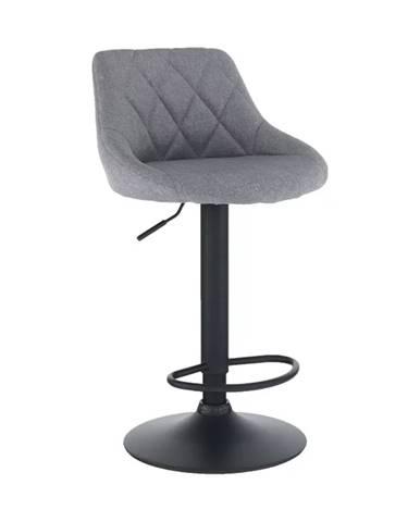 Terkan barová stolička sivá