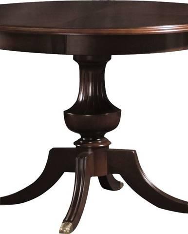 Verona V-8 rustikálny okrúhly jedálenský stôl hnedá