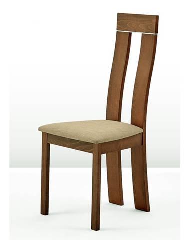 Desi jedálenská stolička buk merlot