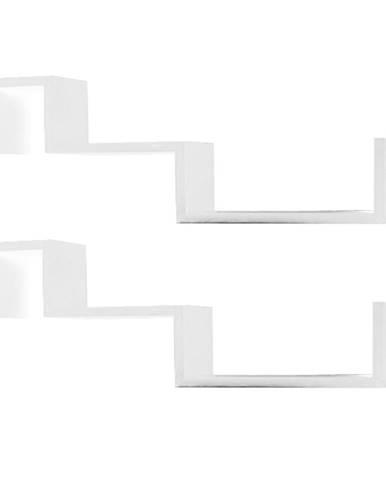 Fri New poličky (2 ks) biela