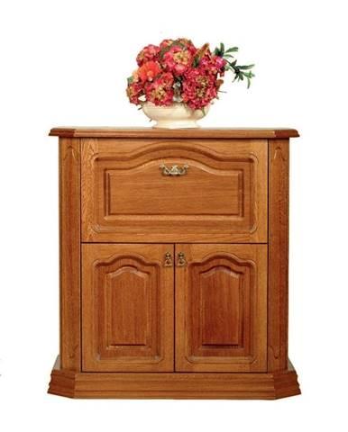 Kinga M rustikálna barová skrinka drevo D3