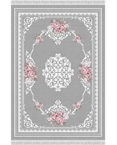 Sedef Typ 2 koberec 160x230 cm sivá