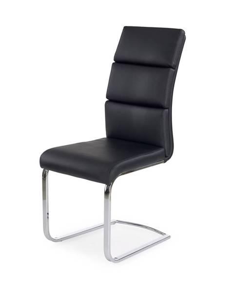 Halmar K230 jedálenská stolička čierna
