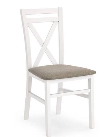 Dariusz jedálenská stolička biela