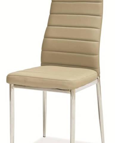 H-261 jedálenská stolička tmavobéžová