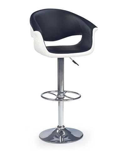H-46 barová stolička čierna