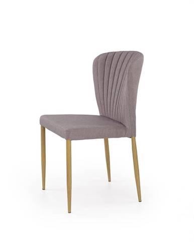 K236 jedálenská stolička sivá