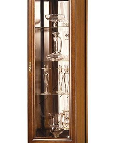 Neptun N-W 43132 L rustikálna vitrína s osvetlením nový orech