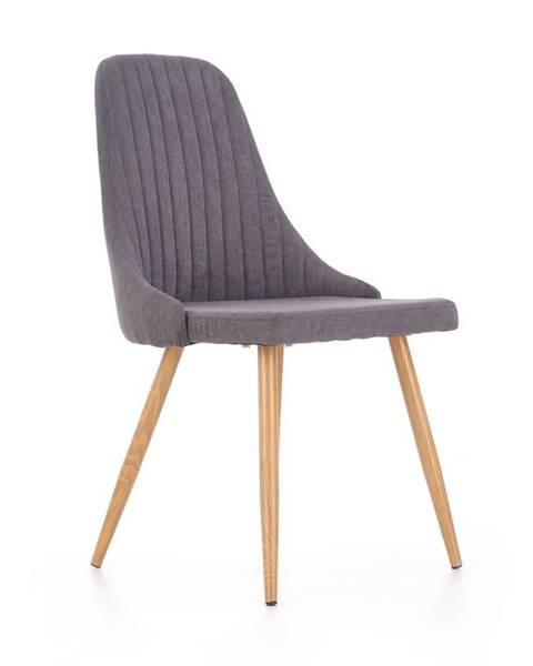 Halmar K285 jedálenská stolička tmavosivá