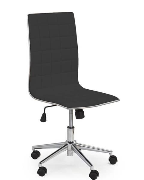 Halmar Tirol kancelárska stolička čierna