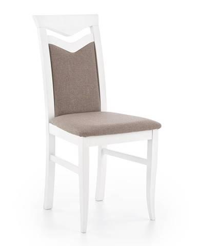 Citrone jedálenská stolička biela