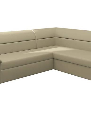 Estrela P rohová sedačka s rozkladom a úložným priestorom béžová