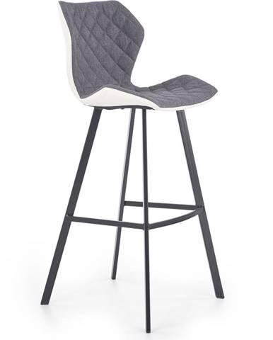 H-83 barová stolička biela